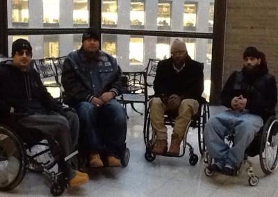 Wheelchairs-Against-Guns-Speakers