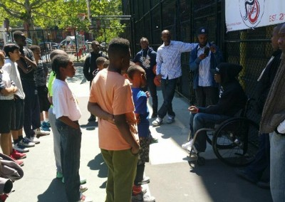 Wheelchairs Against Guns Basketball Clinic 4