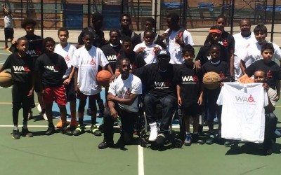 Wheelchairs Against Guns Presents: The Sugar Hill Basketball Clinic