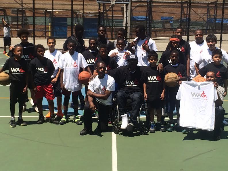 Wheelchairs Against Guns Presents: The Sugar Hill Basketball Clinic