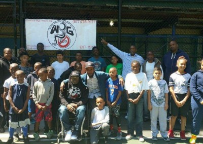 Wheelchairs Against Guns Basketball Clinic 3