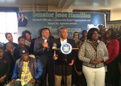 Kareem Nelson WAG - Senator Jesse Hamilton