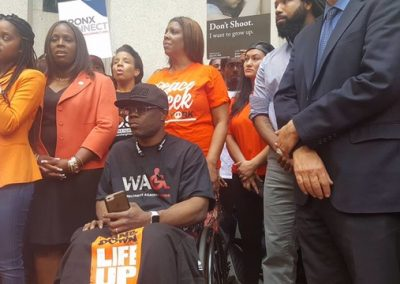 Kareem Nelson WAG - Tamika D Mallory - Gun Violence Awareness Month