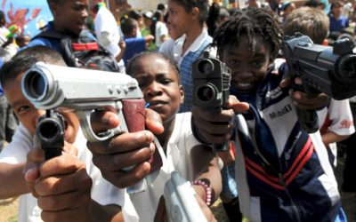 13 Year Old Chicago Kids Encouraged To Brandish Gun By Adult Gang Member