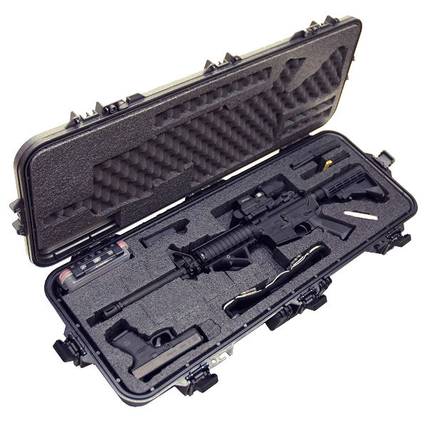 Case Club Pre-Made AR15 Waterproof Rifle Case - 1