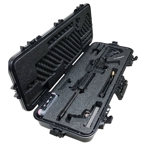 Case Club Pre-Made AR15 Waterproof Rifle Case - 2